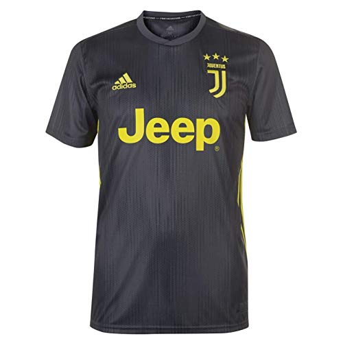 adidas JUVE 3 JSY Camiseta 3ª equipación Juventus, Hombre, Carbon/Amasho, S