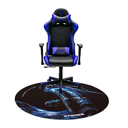 Woxter Stinger Station Blue - Silla Gaming(Racing) + Alfombrilla Gaming de Suelo