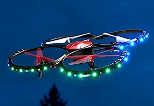Sharper Image Video Camera Drone with LED Lights