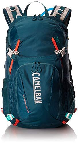 CamelBak Sundowner LR 22-Mochila de hidratación, Unisex-Adultos, Azul Oscuro/Coral, 100...
