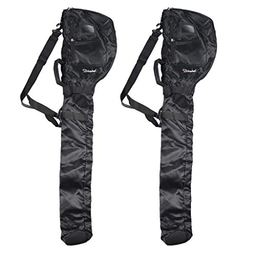 oshhni 2X Sac de Voyage de Golf Pliant Durable Sunday Pencil Bag Cover Case Pack D'épaule