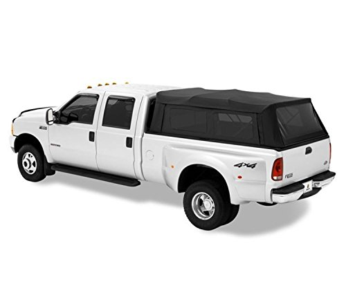 Bestop 7631735 Black Diamond Supertop for Truck - 8.0' Bed for 1994-2017 Dodge Ram 1500/2500/3500 (w/o Rambox), 1999-2017 Ford F-250/F-350