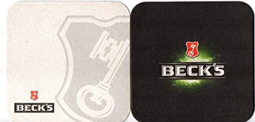 Becks Bierdeckel Untersetzer Bierfilz - 60er Packung