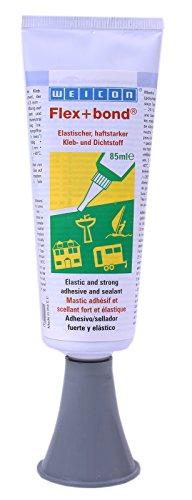 Weicon Flex+bond Einkomponentenkleber grau 85 ml (dauerelastischer Kunststoffkleber Klebstoff)