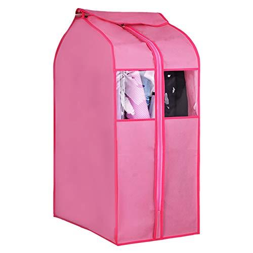 QFFL Sac de compression sous vide Housse anti-poussière, vêtements grands vêtements sac à poussière transparent Housse anti-poussière suspendu tridimensionnel sac à vêtements Sac de protection