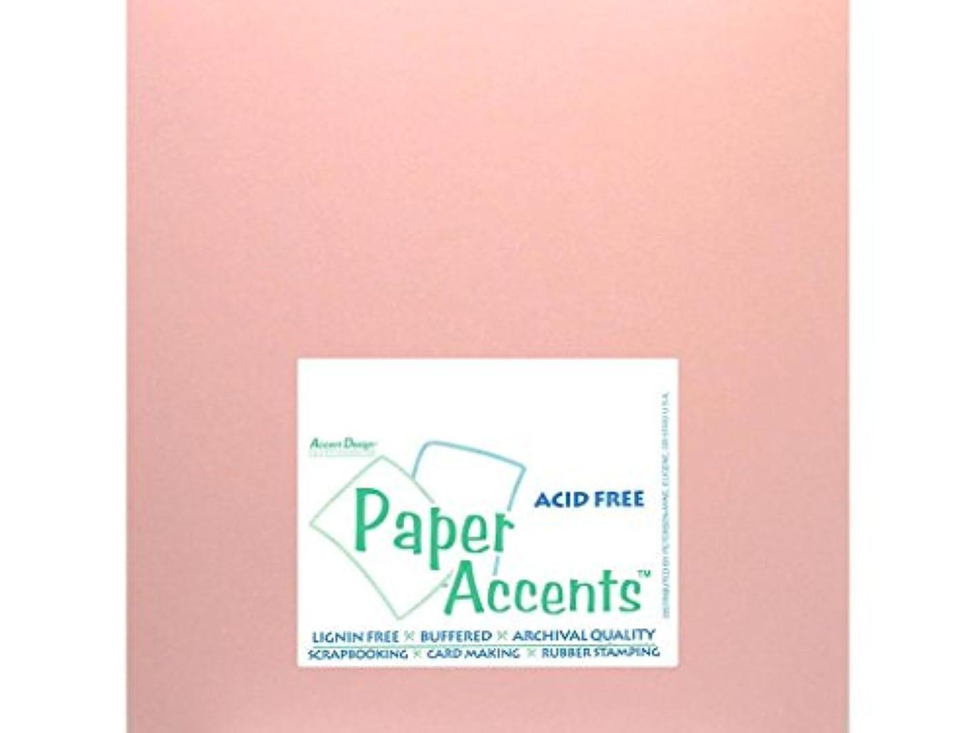 Accent Design Paper Accents ADPaperPearlized1212Primrose Paper Pearlized 12x12 80# Primrose ermydfsaqfa907