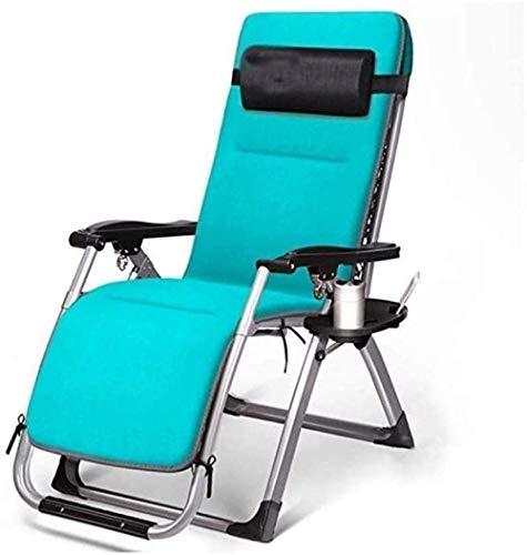 Recliner Rocking Chair, Klapstoel verstelbare fauteuil, Outdoor ligstoel met een bekerhouder, Portable Nap Leisure Bank, for Outdoor Camping 8bayfa