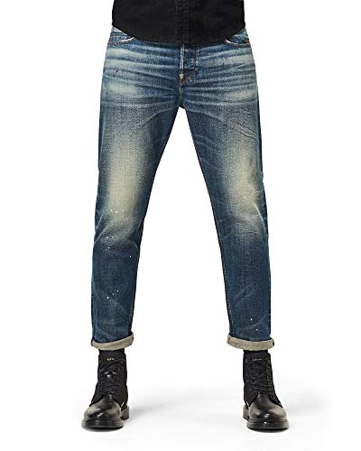G-STAR RAW Men's 3911 Alum Relaxed Tapered Jeans - Blue - W36