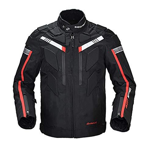Herfst/Winter Motorbike Jack, Ademende Motorfiets Fietsen Kleding met Reflecterende Strip, Giveaway: Beschermende Gear