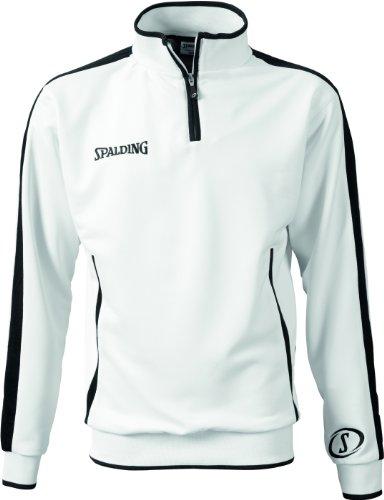 Spalding Evolution Quarterzip Veste Homme Blanc Blanc XL
