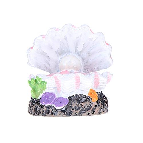 Demiawaking Aquarium Vulkan Form & Luftblase Stein Sauerstoff Pumpe Fisch Aquarium Dekor (1)