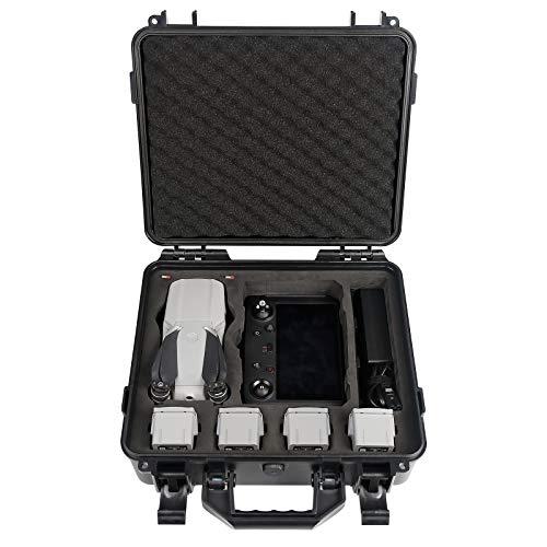 Smatree Étui de Transport Rigide Malette Compatible avec DJI Mavic Air 2S / Air 2 et la Télécommande Intelligente DJI (Le Drone et Les Accessoires ne sont Pas Inclus)