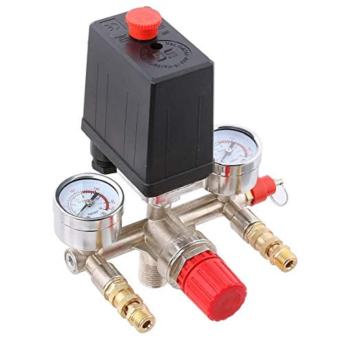 Odoukey Air Compressor Automatische Druckregelung Schalterbaugruppe Ventilauslass Neuzugänge