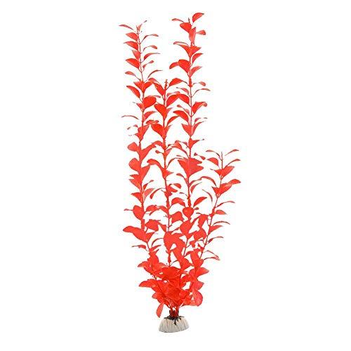 gaeruite Plantes Aquatiques artificielles de Taille de 40cm, Herbes Vives d'aquarium de créature d'aquarium de Simulation de Couleurs Vives Multi-Couleurs pour Les décorations d'aquarium