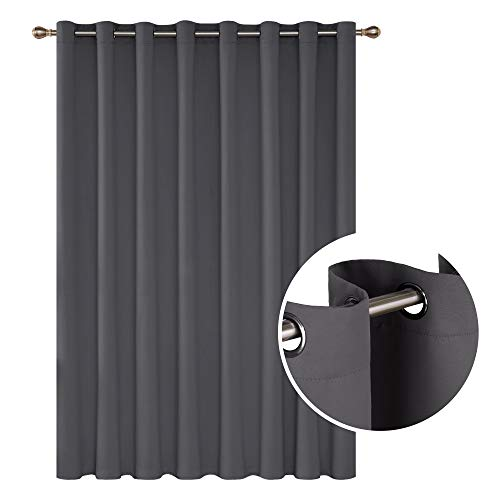 Deconovo Blackout Curtains 1 Panel Wide Width Curtain Room...