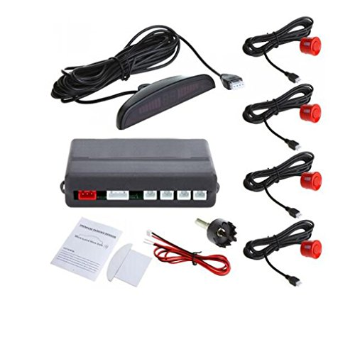 Amazing Deal Auto Parktronic LED Display Reverse Backup Car Parking Radar Monitor Detector System wi...
