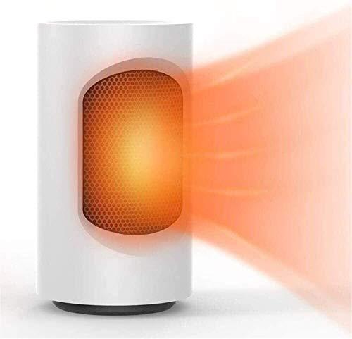 XIANGAI Calefactor Pequeños electrodomésticos Calentador eléctrico, Calentador de Protable Personal, oscilando Calentador de cerámica, Mini Calentador de Ventilador, e.