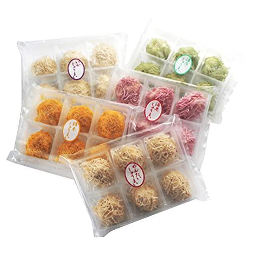 かねすえ 彩色いかしゅうまい 5種×各6 しゅうまい 点心 焼売 明太子 いか 海藻 えび 惣菜