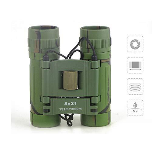 Hero Jumelles 8X21 Professionnel Jumelles Télescopiques Imperméables Chasse Camouflage Sports De Plein Air Faune Escalade Télescope