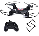 FUNCTION: 360 Degree Flips & Rolls, 6-Axis Gyro, Headless Mode, Altitude Hold, 2.4 GHz Technology, Lighting Control etc Camera - No, Weight : 0.4kg, Flying Height : 60 Mtrs, Charging Method : USB charging, Flying Time: 9-10 mins Drone Size: 25cm X 25...