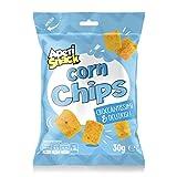 Aperisnack® - AP04.015.08 - Corn Chips (30g x 20pz) Monoporzione Box. Snack Salati e Stuzzichini Ideali per l'Aperitivo e Le tue Feste
