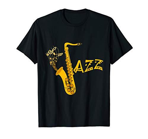 Saxophon T-Shirt für Saxophonisten Geschenk
