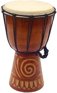 """Rustic Djembe Tribal Drum - 12"""""""