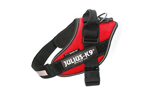 Julius-K9, 16IDC-R-0, IDC-Powergeschirr, Hundegeschirr, Größe: 0, rot