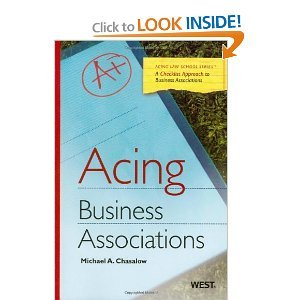 Acing Business Associations byChasalow