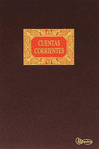 Miquelrius - Libro de Contabilidad, Cuentas Corrientes, Folio Natural, 100 Hojas