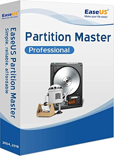 EaseUS Partition Master PRO WIN (Product Keycard ohne Datenträger)-aktuelle Version