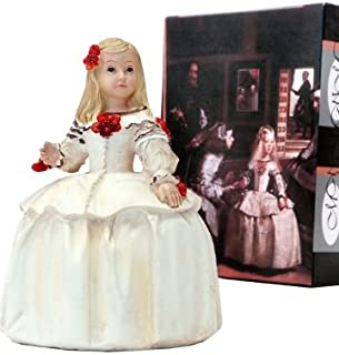 DRW - Figura Resina menina Infanta Margarita 16 cm