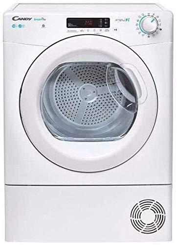 Candy CSO C10DG-S Asciugatrice a condensazione, 10 kg, Colore Bianco [Classe di efficienza...
