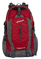 F Gear Capiche 51 cms Red Gry Rucksack (3134),F Gear,3134