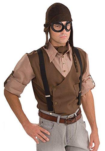 Forum Novelties Steampunk Aviator Kit Costume Pilot Fancy Dress