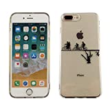 CASEMPIRE iPhone 7 Plus, iPhone 8 Plus Stranger Things Bicycle TPU Case Shock Proof Never Fade Slim Fit Cover for iPhone 7 8 Plus Upside Down