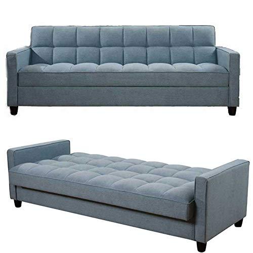 RJMOLU Sofá sofá Cama Moderno sofá 3 plazas - Sofá Convertible Sofá Cama - Sofá reclinable con Patas de Madera para Sala de Estar/Habitación/Oficina