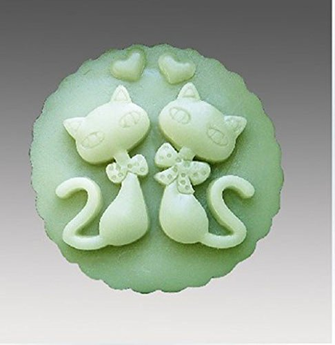 Tierform Handwerk Kunst Silikon Seife Formen Handwerk DIY, Seife Kerze handgefertigte Formen (N015)