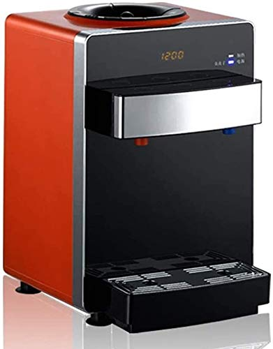 Desktop Home office Water Dispenser Hot and Cold aanrecht, Warm Koud Water Dispensers RVS 3L-5L fles watergebruik, Kleine Countertop Water Cooler en verwarming (Kleur: B) LQH (Color : B)