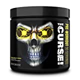 JNX Sports The Curse! Pre Workout Powder Increases Blood Flow, Boosts Strength and Energy, Improves Exercise Performance with Creatine (Pineapple Shred)
