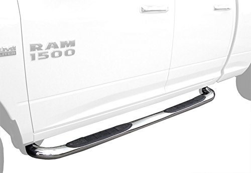 2pcs with Mounting Bracket Kit Custom Fit 09-13 Honda Pilot Stainless Steel 3 Side Step Nerf Bars Running Boards