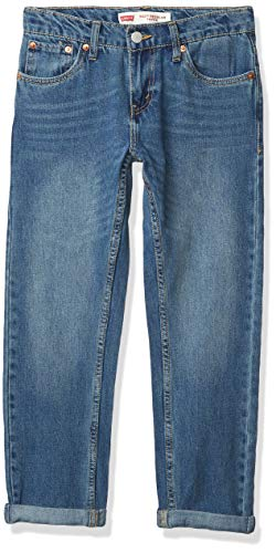 Levi's Boys' Little 502 Regular Taper Fit Jeans, Jumpshot, 6