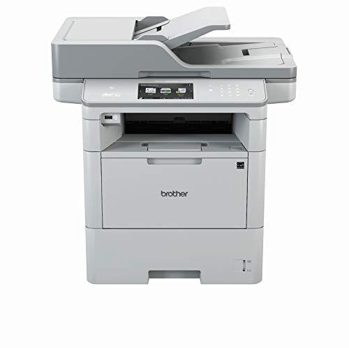 Brother MFC-L6800DW A4 mono Laserdrucker (46 Seiten/Min., Drucken, scannen, kopieren, faxen, 1.200 x 1.200 dpi, Print AirBag für 750.000 Seiten)