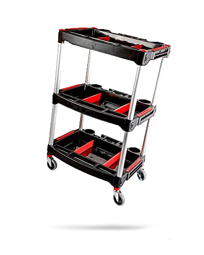 Adam's Standard Detailing Cart - Custom Mobile Rolling Utility...