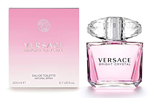 Versace Bright Crystal Eau De Toilette Spray für Sie 200 ml