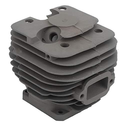Conjunto de cilindro de aluminio, juego de pistón de cilindro, peso ligero resistente al desgaste para motosierra Producción de madera Aplicación industrial Traviesas de ferrocarril Aserrado
