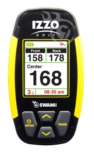Review Of IZZO Swami 4000 Golf GPS