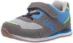 small OshKosh B'Gosh Eddi sneakers, gray, for 6 year old boys