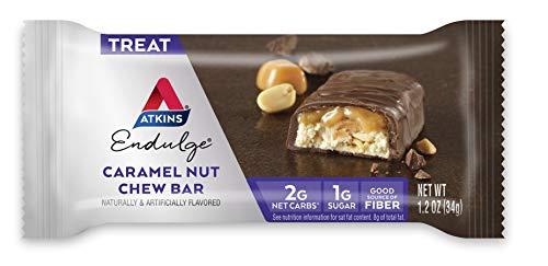 Atkins Endulge Treat Caramel Nut Chew Bar