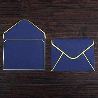 CHUJIAN 20pcs/set Sulfuric Acid Paper Envelope Thicken European Vintage Hot Stamping Printing Envelope For Wedding Letter ...